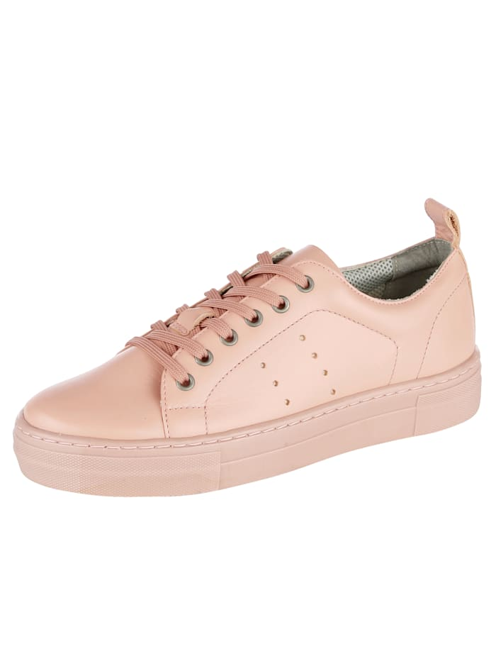Liva Loop Platform trainers in a stylish design, Rosé