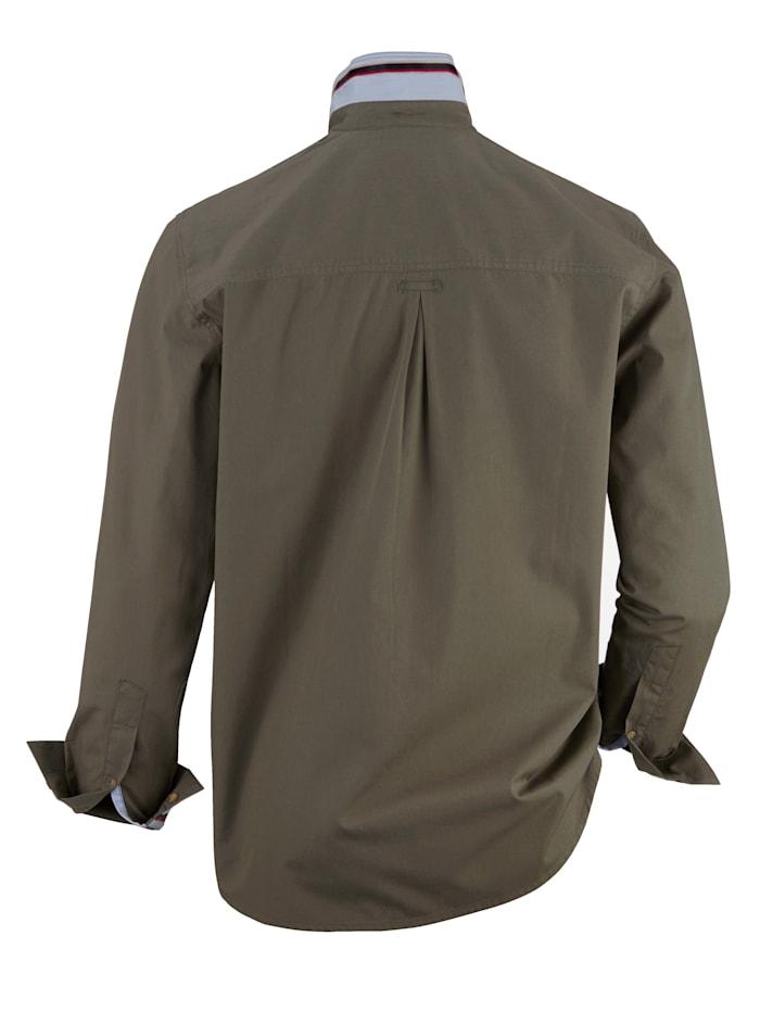 Overhemd met washed effecten