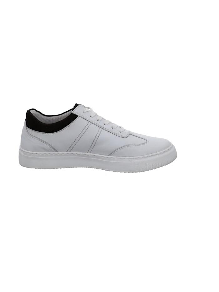 Josef Seibel Herren-Sneaker Forrest 01, weiss-braun