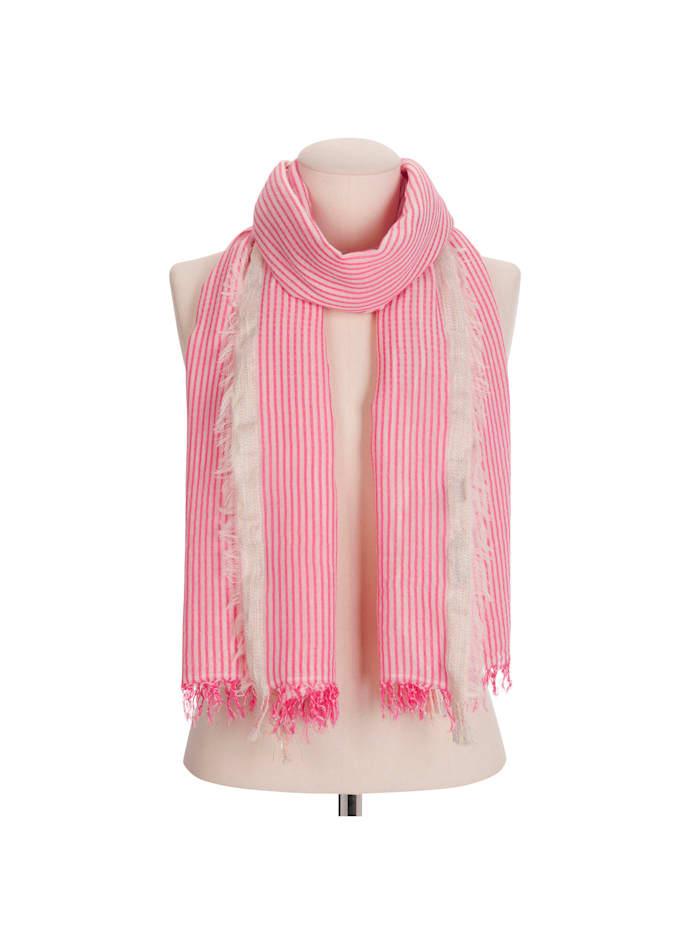 XL-Schal im frischen Streifen-Design