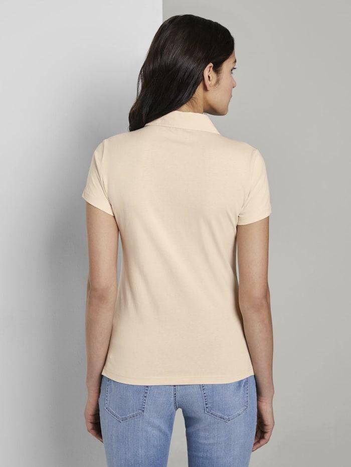 Basic Poloshirt mit Brusttasche