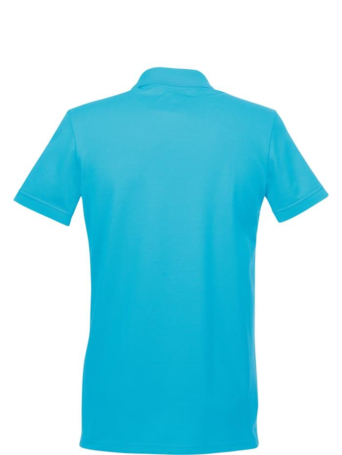 Herren Poloshirt aus elast. Piqué