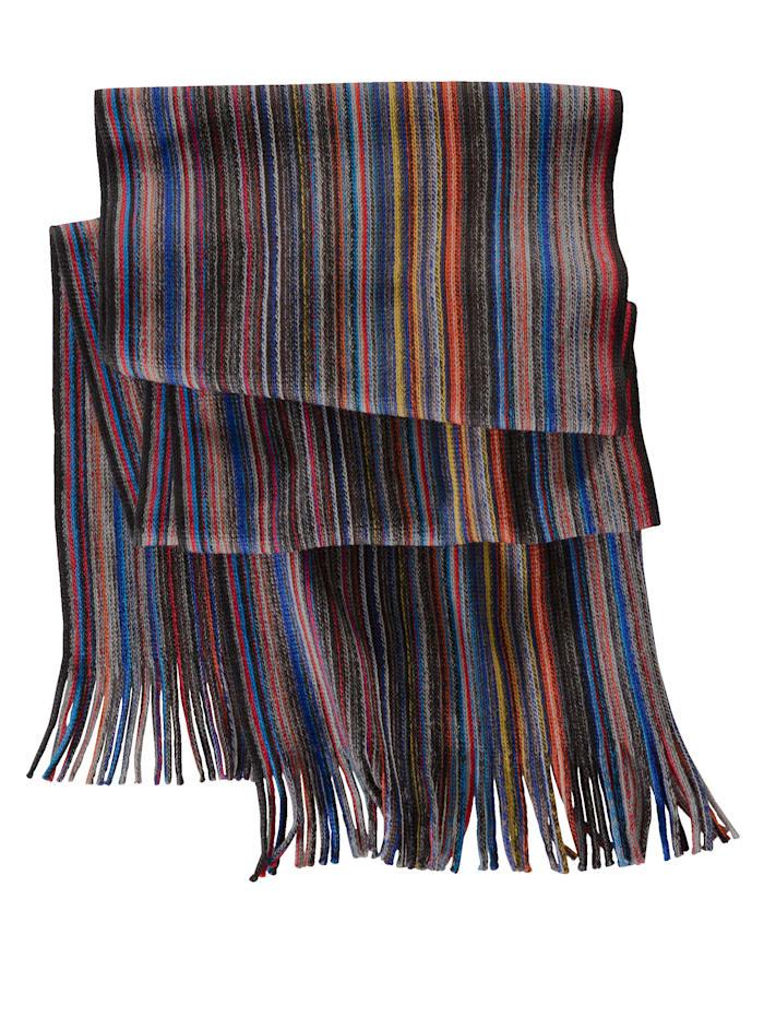 BABISTA Sjaal met gekleurde strepen, multicolor