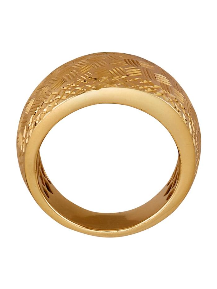 Damenring in Gelbgold 585