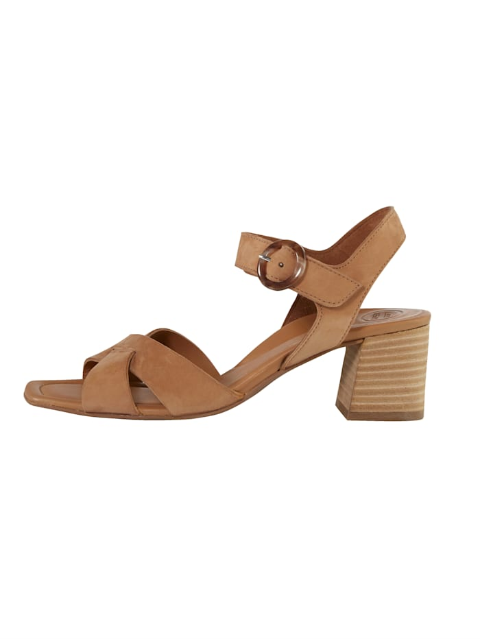 Sandale Verdeckter Klettverschluss
