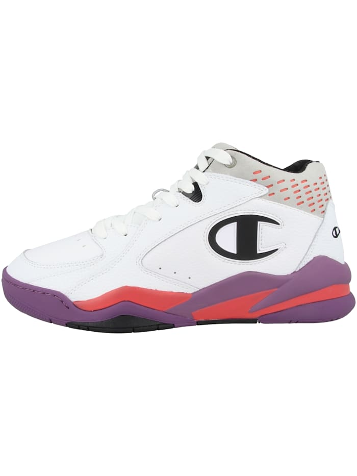 Champion Sneaker mid Zone Mid 90's Mid Cut, weiss