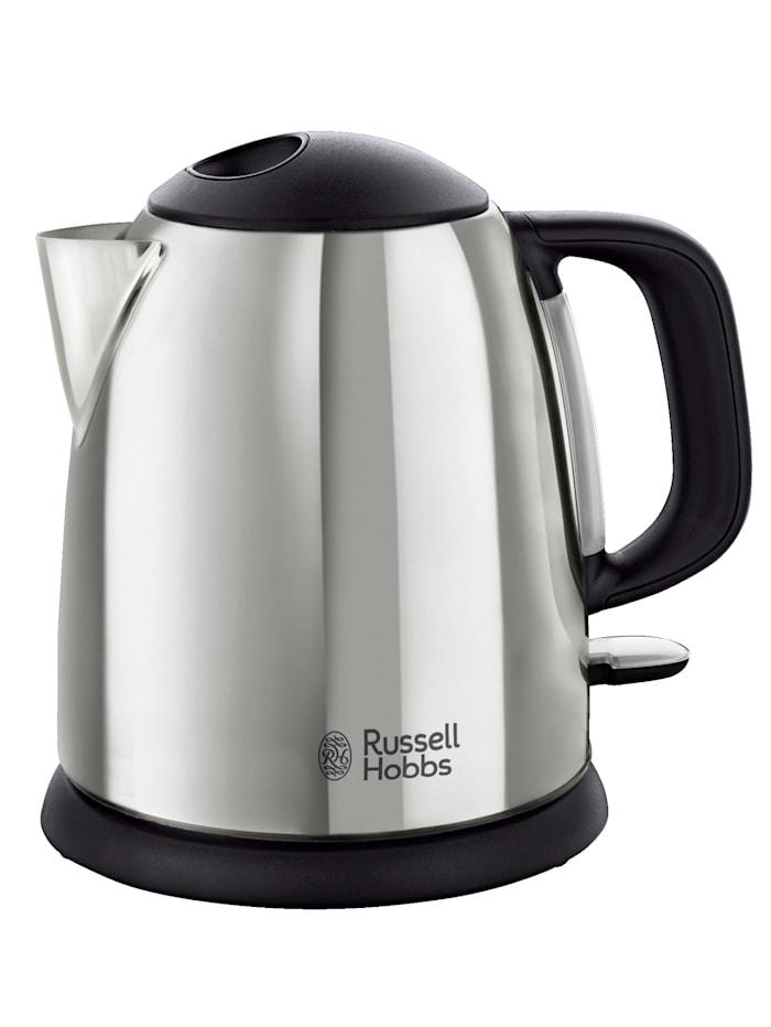 Russell Hobbs Russell Hobbs Kompakt-Wasserkocher 'Victory' 24990-70, 1 Liter, silberfarben/schwarz