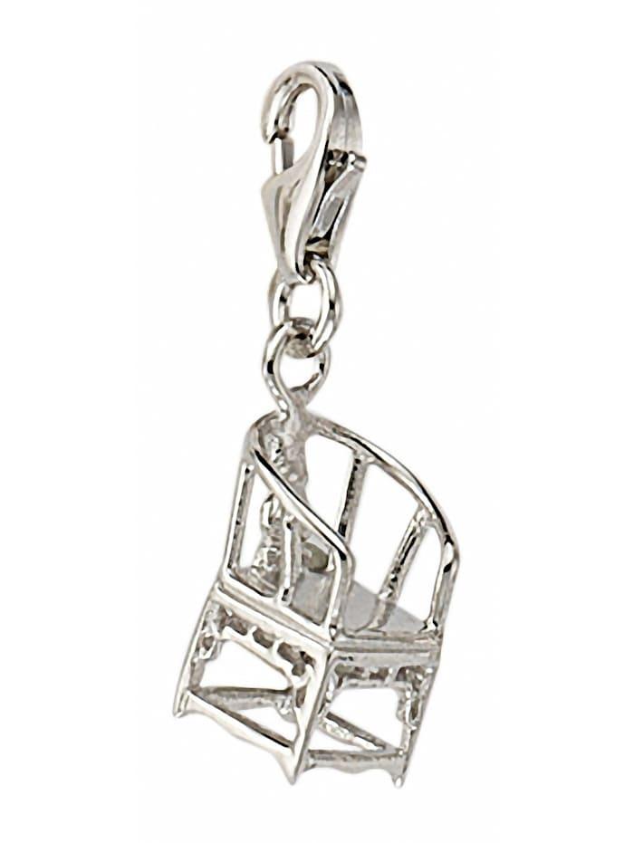 1001 Diamonds Damen Silberschmuck 925 Silber Charms Anhänger, silber