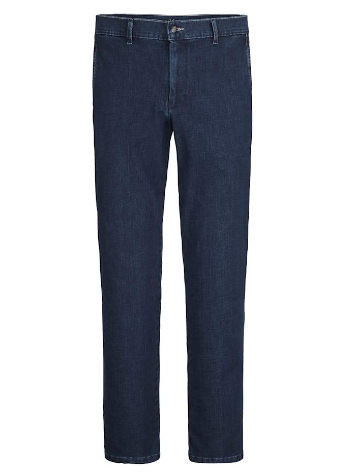 BABISTA Jeans med kontrasterande sömmar, Blå