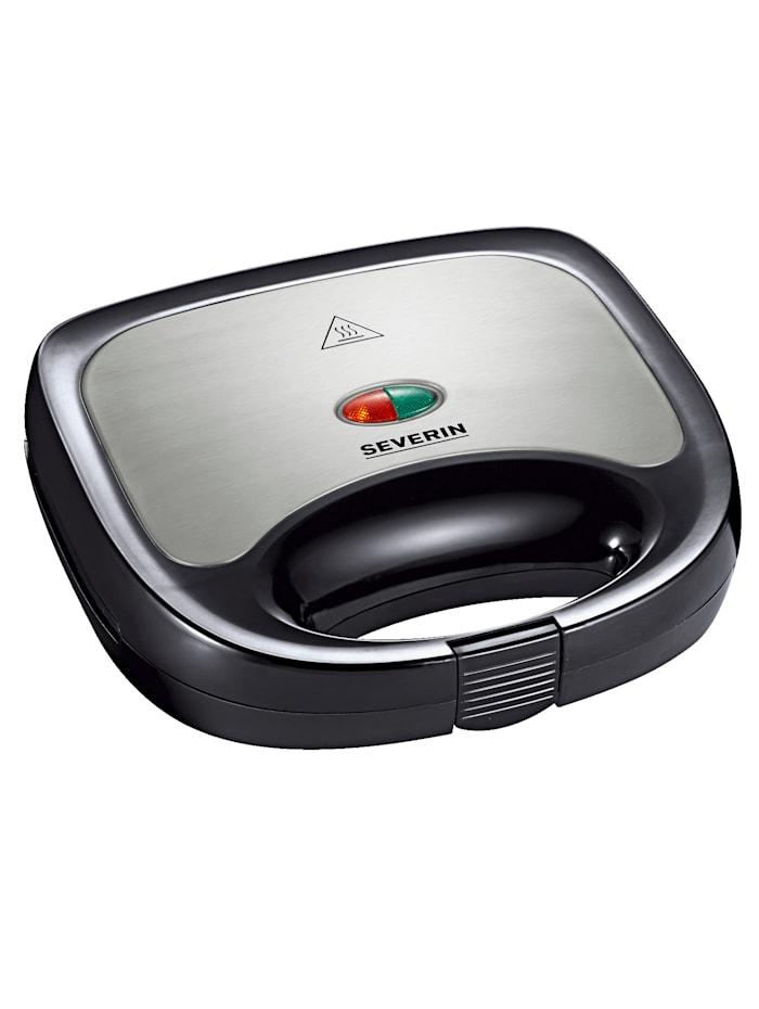 Severin Severin Sandwich-Toaster SA 2969, schwarz/silberfarben