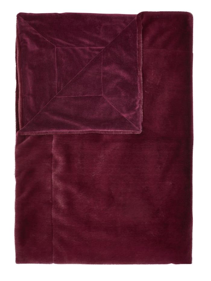 Essenza Plaid 'Furry', Rot