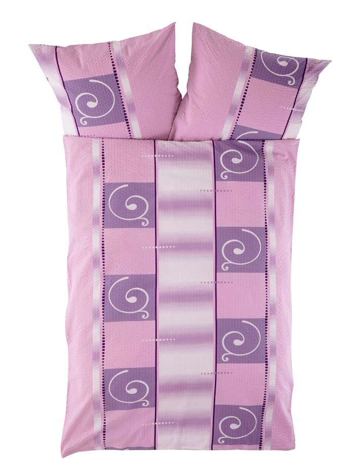 Webschatz 2-delige set bedlinnen Alma, roze