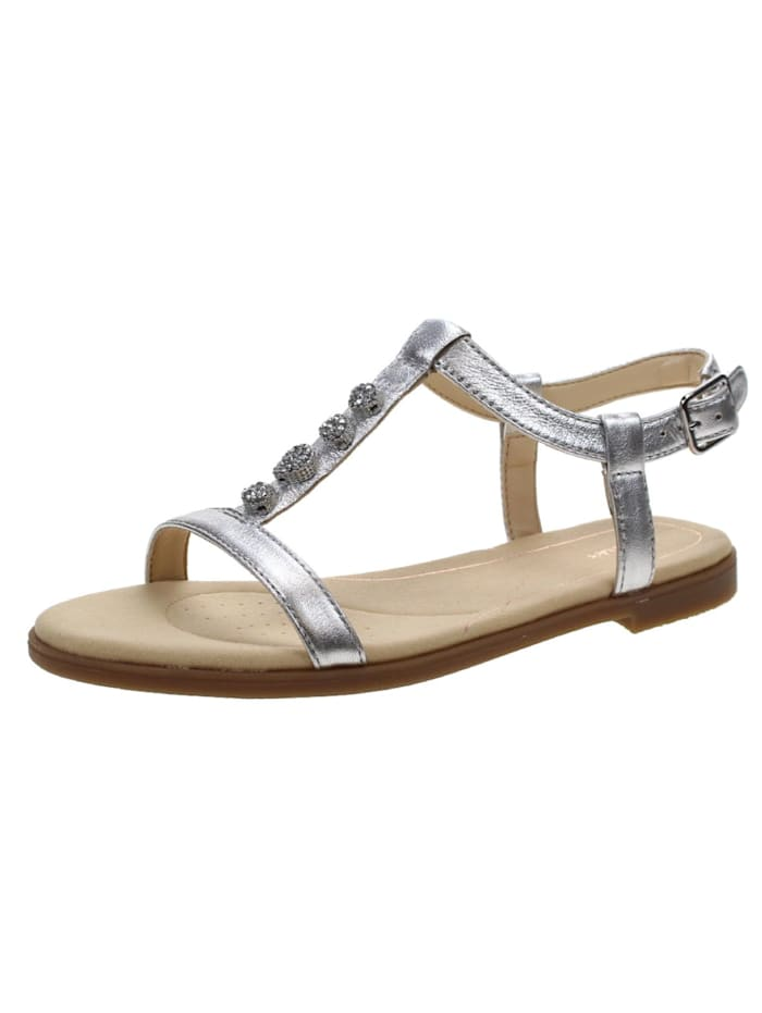 Clarks Sandalen/Sandaletten, silber