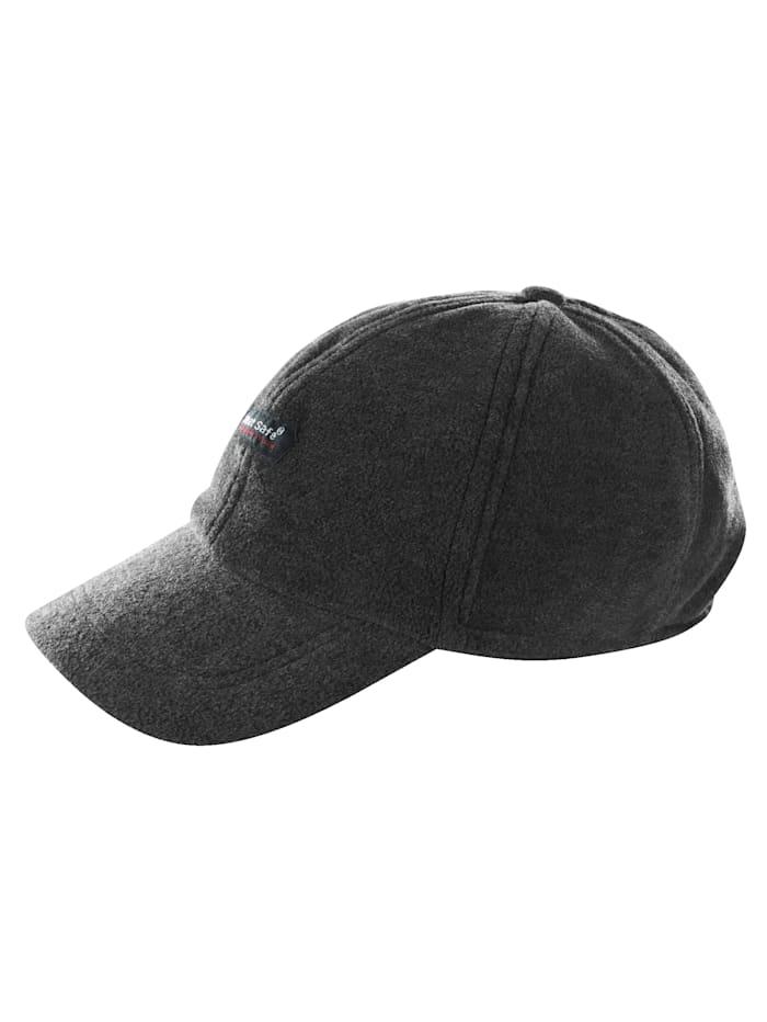 BABISTA Thermo-Cap mit ausklappbaren Ohrenklappen, graumelange
