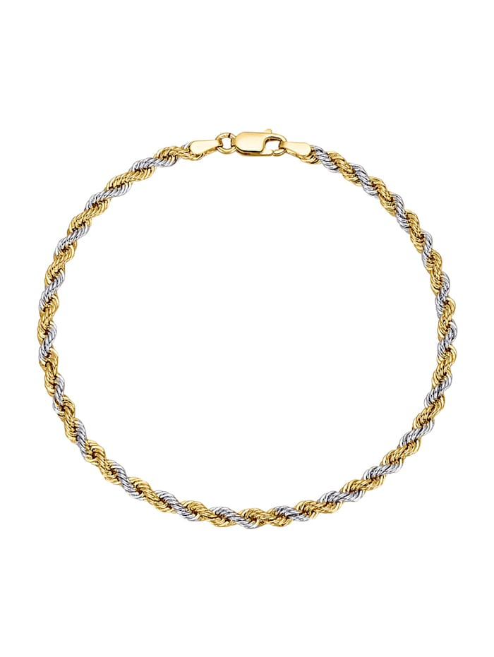 Amara Or Bracelet maille cordon, Coloris or jaune