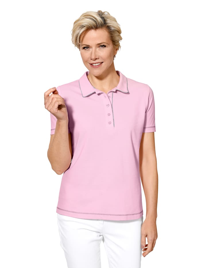 Polo shirt made from pure cotton