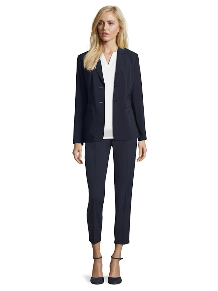 Betty Barclay Businessblazer mit Reverskragen, dunkelblau