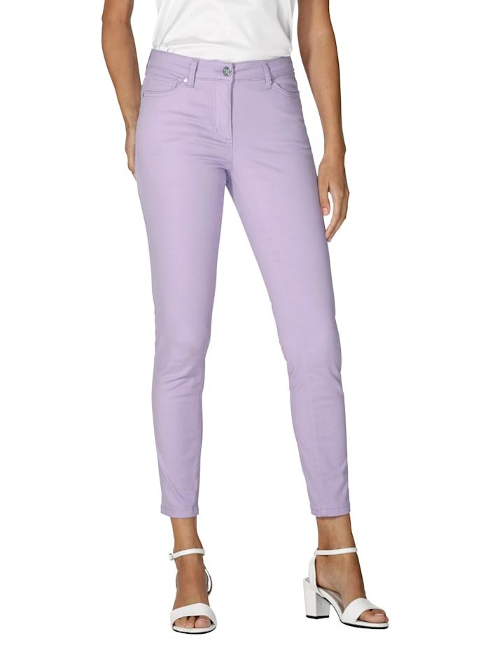 AMY VERMONT Broek in prachtige kleuren, Lavendel