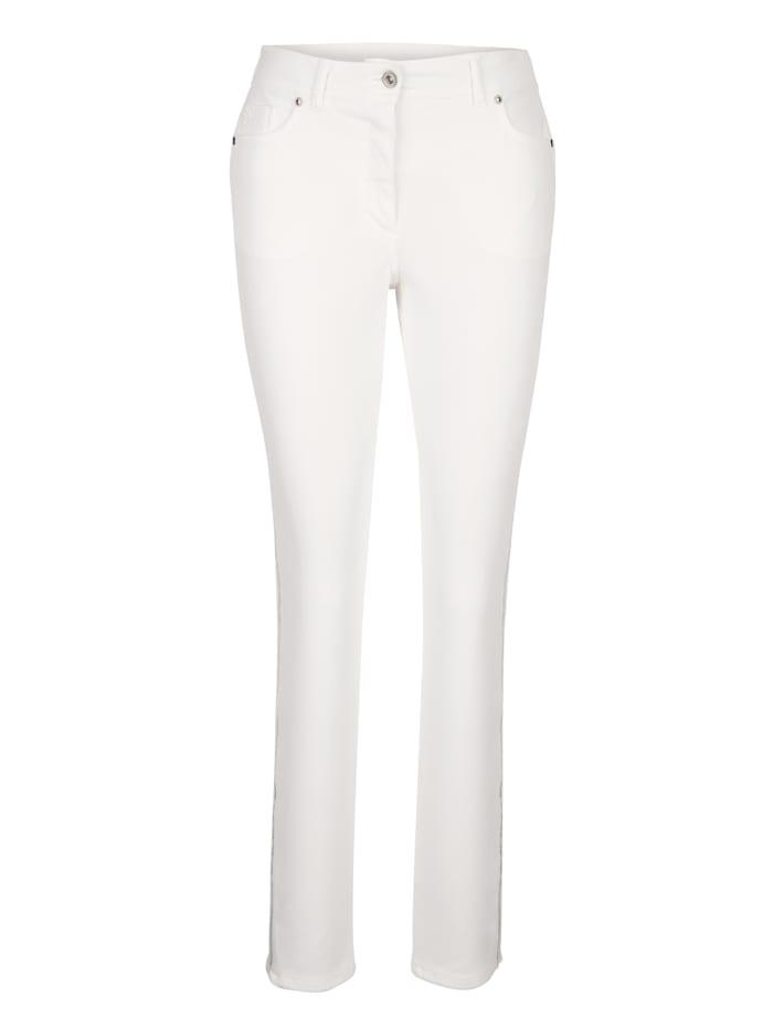 Pantalon avec bandes fantaisie côtés