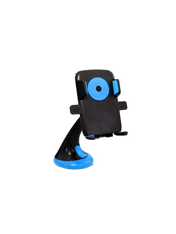 HTI-Line Handyhalter mit Saugnapf blau, Blau