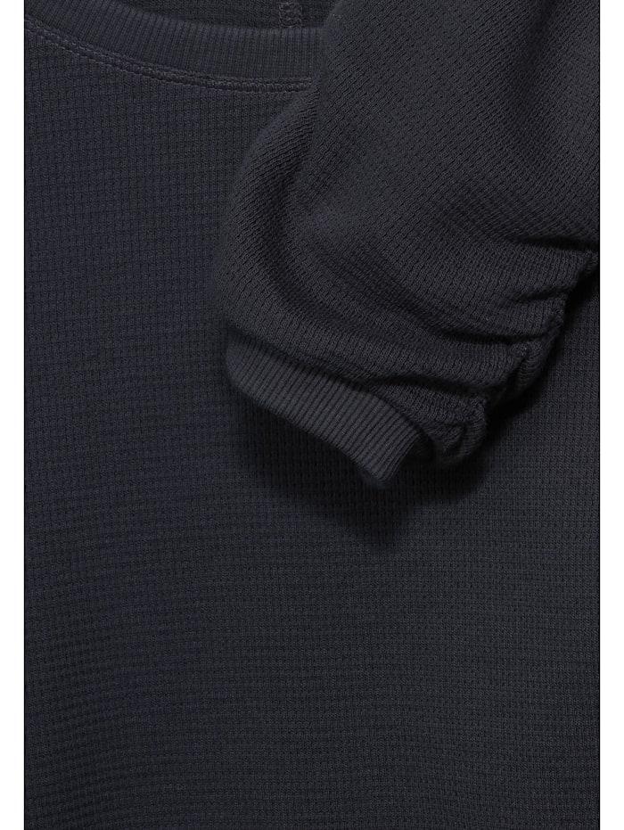 Shirt mit Waffel-Struktur