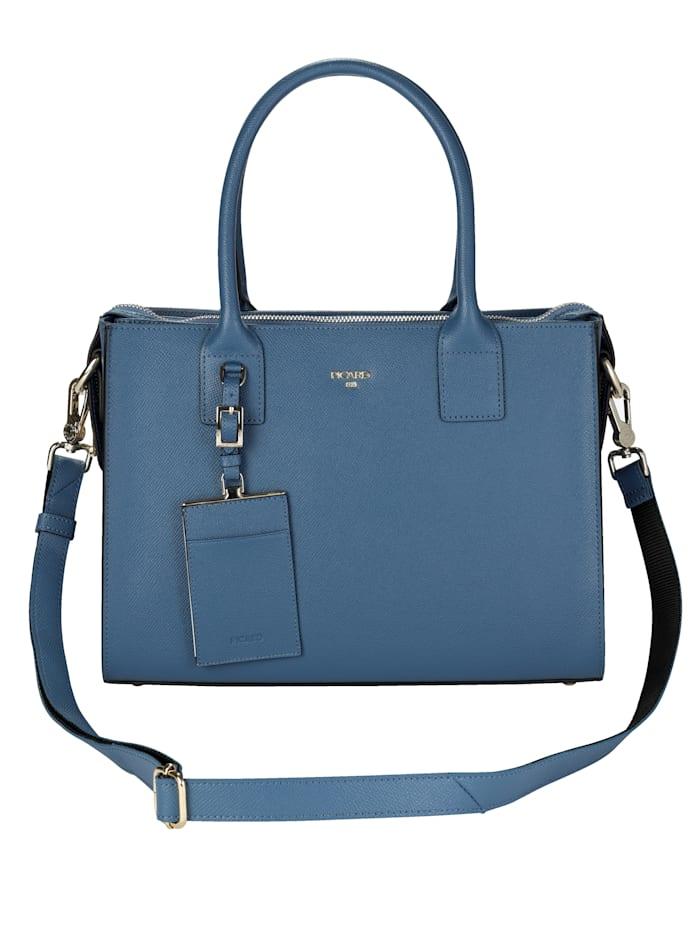 Handbag made of genuine leather