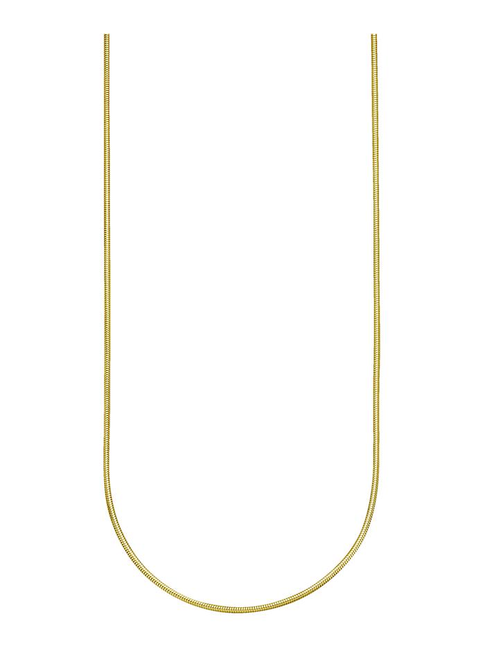 Amara Gold Schlangenkette in Gelbgold, Gelbgoldfarben