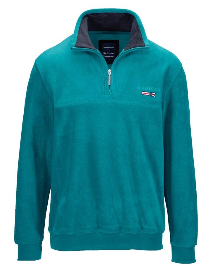 BABISTA Fleece-Sweatshirt, Petrol
