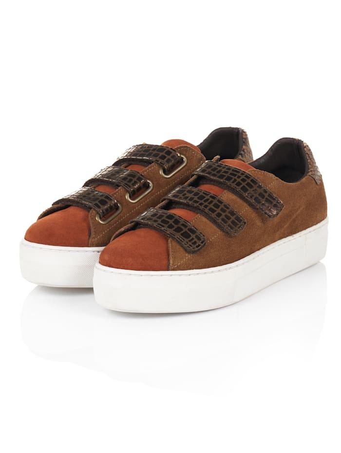 SIENNA Sneaker, Braun