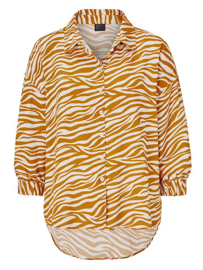 REKEN MAAR Bluse, Orange