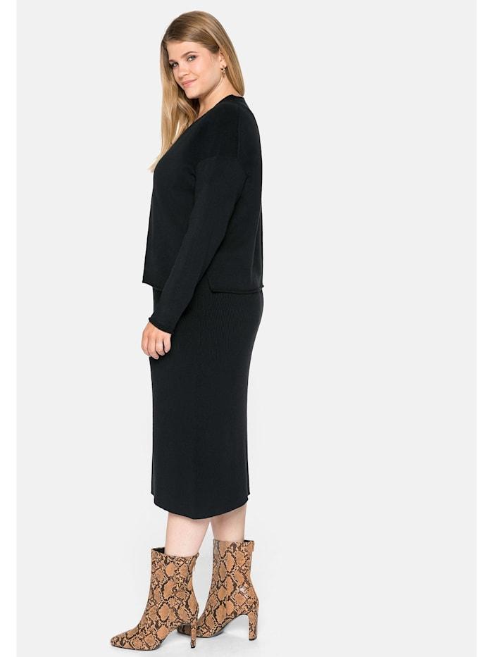 Sheego Kleid in zweiteiliger Optik