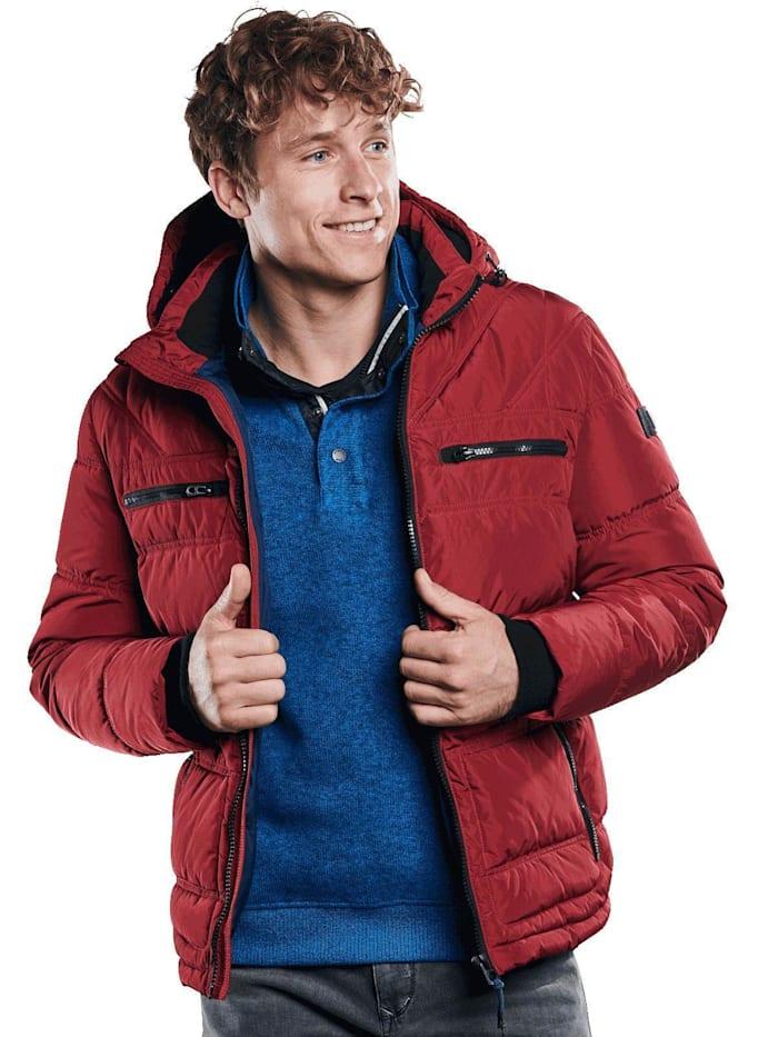 Engbers Sportive Jacke, Weinrot