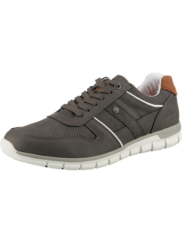 Tom Tailor Sneakers Low, grau