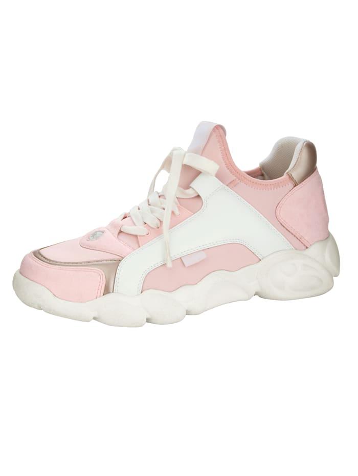 Buffalo Sneaker in modieuze kleuren, Roze