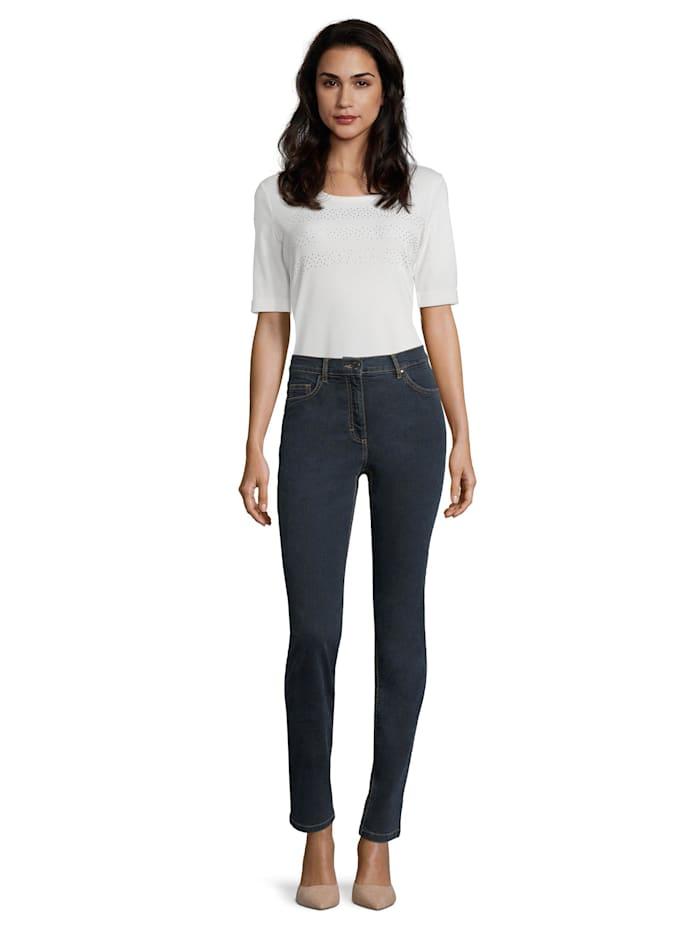 Perfect Body-Jeans mit Stickerei