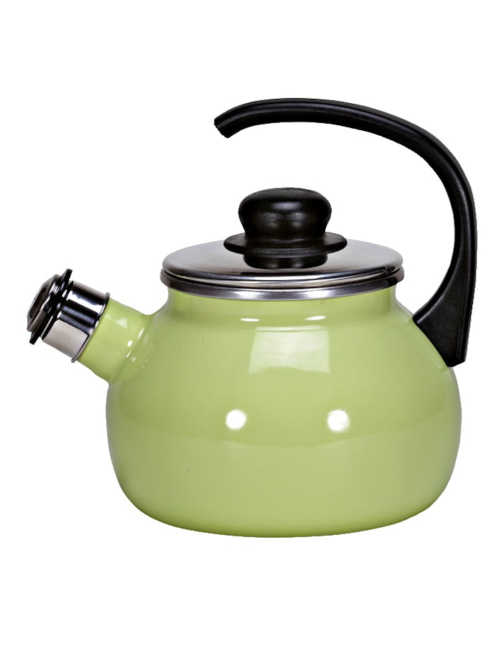 Krüger Flötenkessel Sylt/Juist, grün/creme - Juist