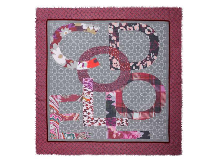 Logo-Tuch aus Baumwolle und Modal