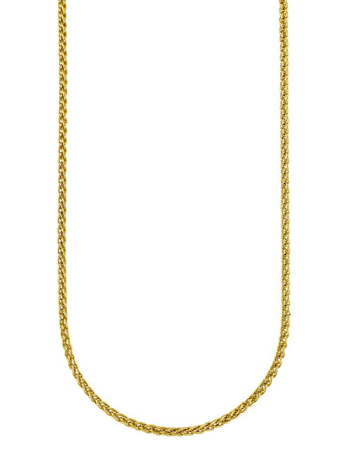 Diemer Gold Gevlochten ketting van 14 kt., Geelgoudkleur