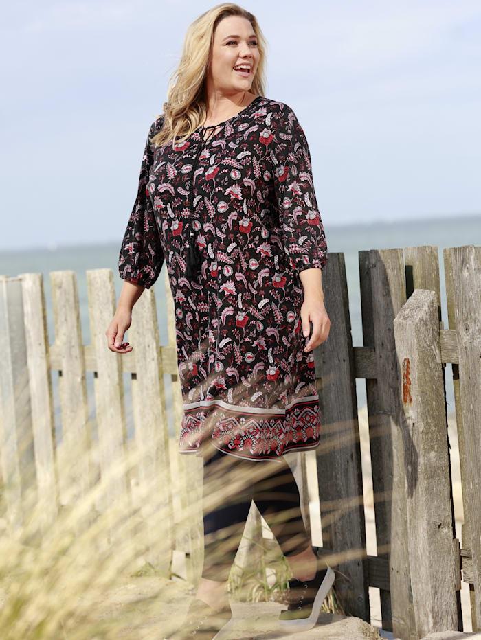 Jersey-Kleid im kaschierenden A-Shape