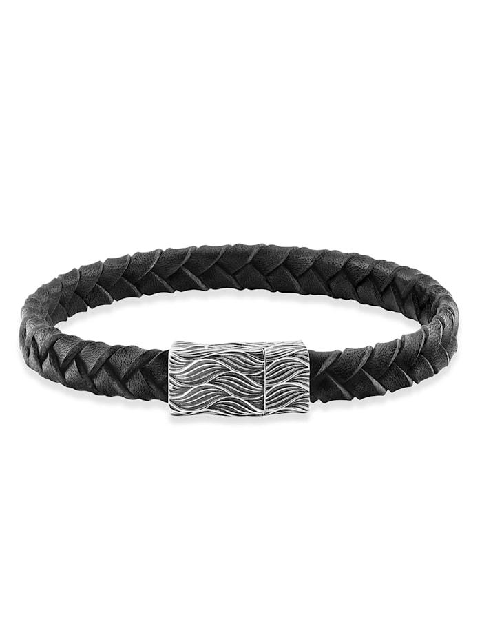 CAI Armband 925/- Sterling Silber ohne Stein 19cm Matt/Glanz, weiß