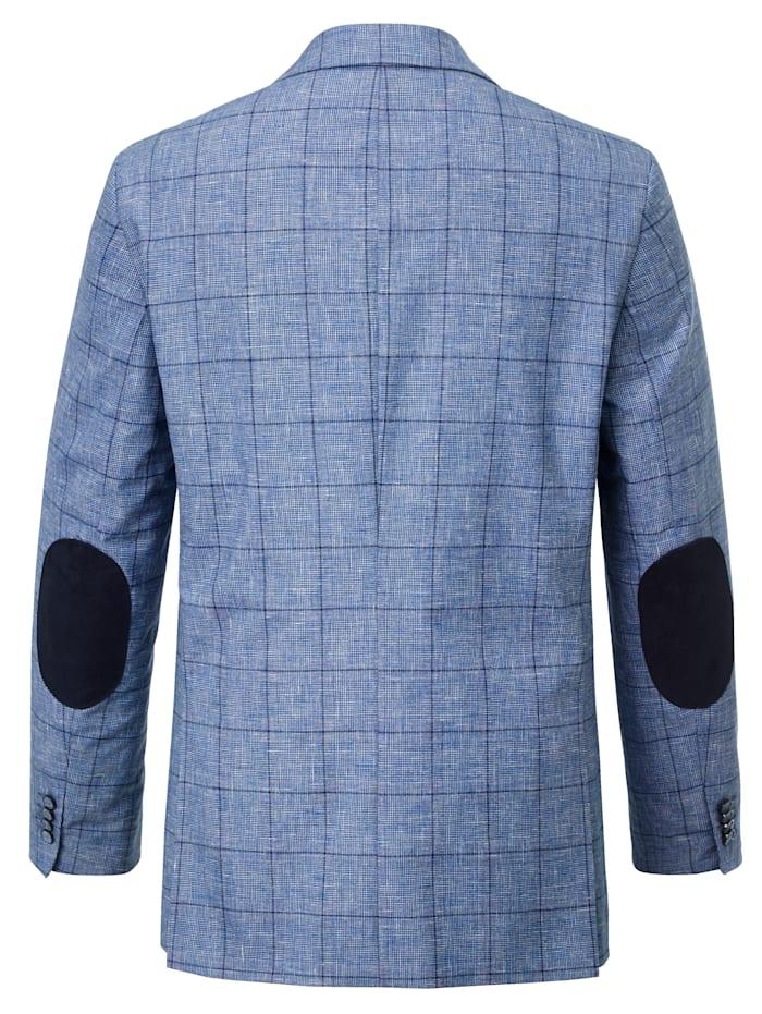 Veste de costume avec coudières en velours