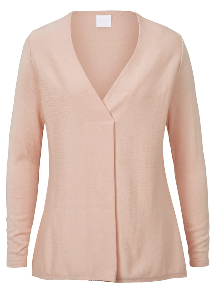 REKEN MAAR Pullover, Rosé