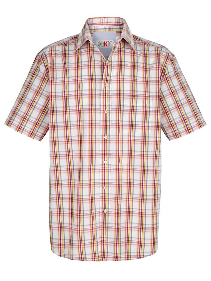 Overhemd met ruitjes