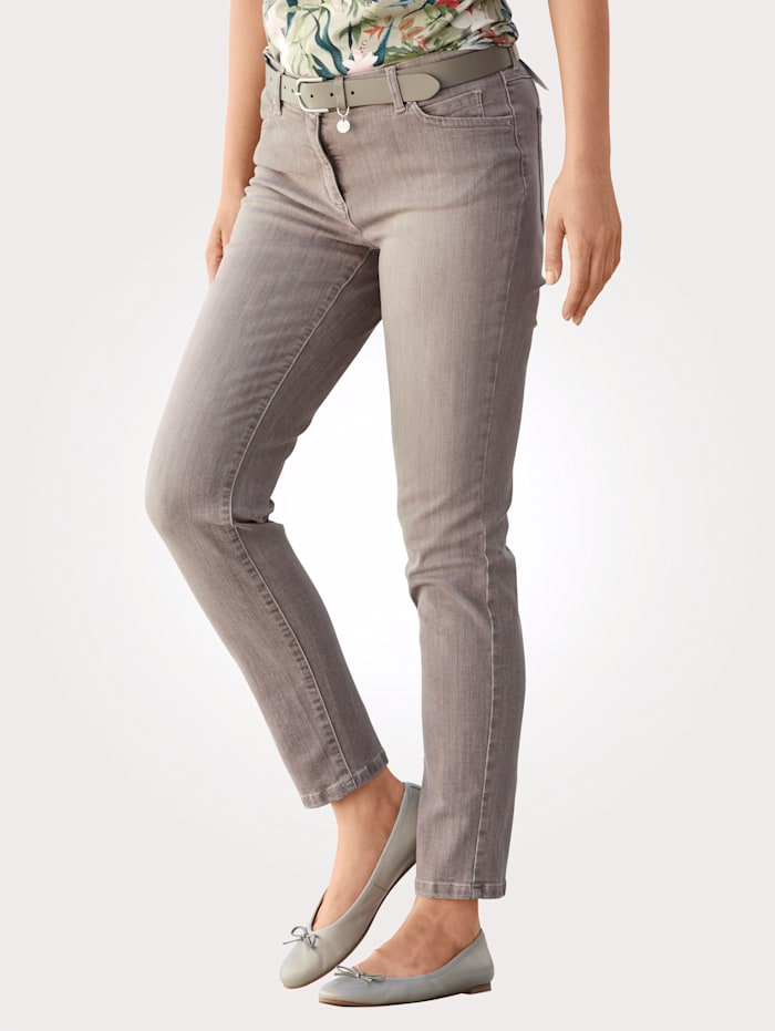Toni Jeans colored denim, Taupe