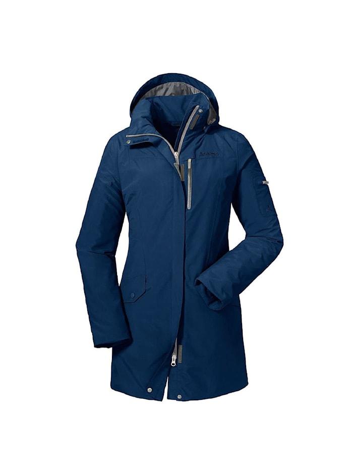 Schöffel Schöffel Jacke Jacket Shanghai, Dunkelblau