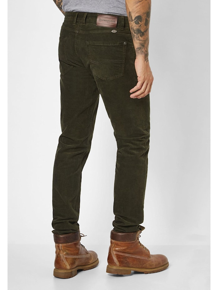 modische Cord Stretch 5-Pocket Milton