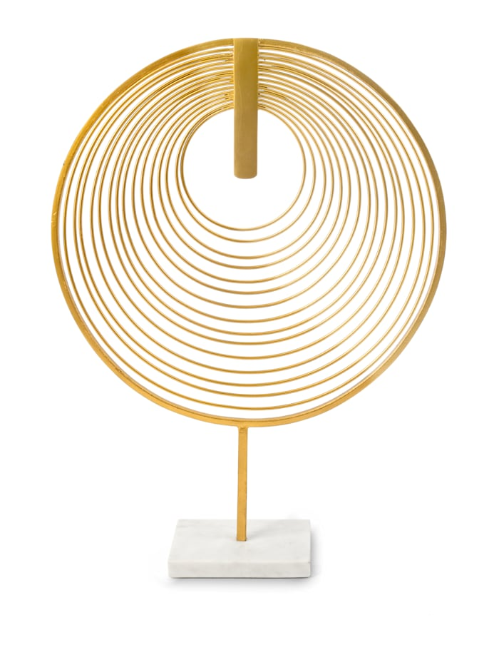 IMPRESSIONEN living Deko-Objekt, Ringe, goldfarben