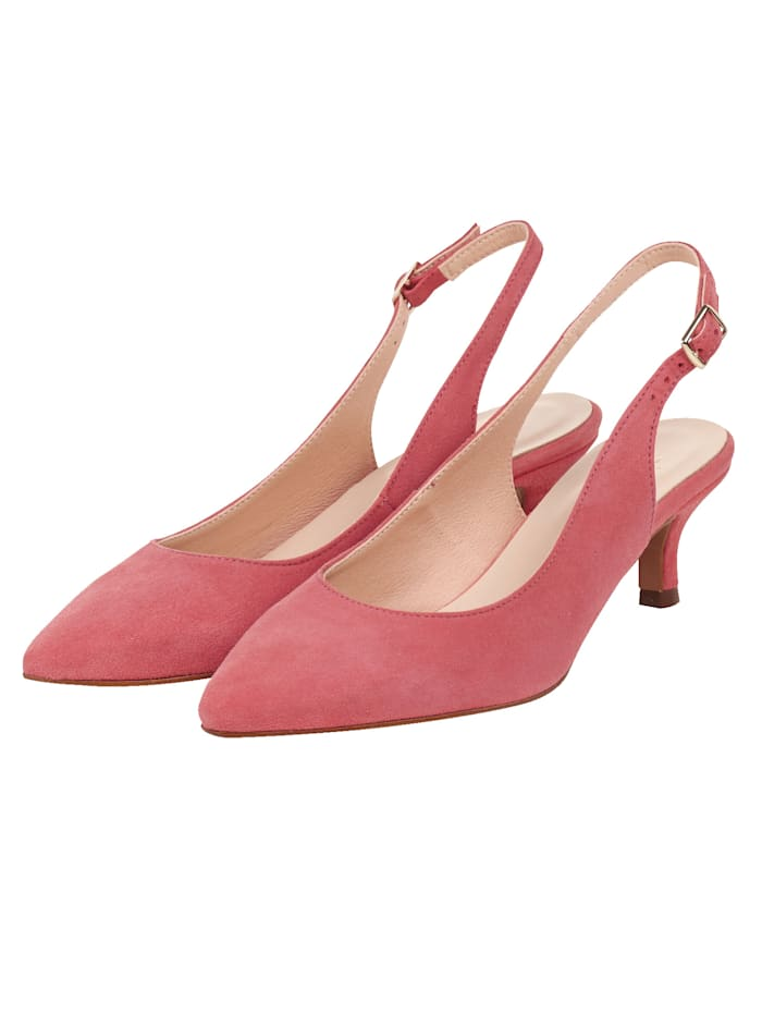 SIENNA Sling-Pumps, Rot