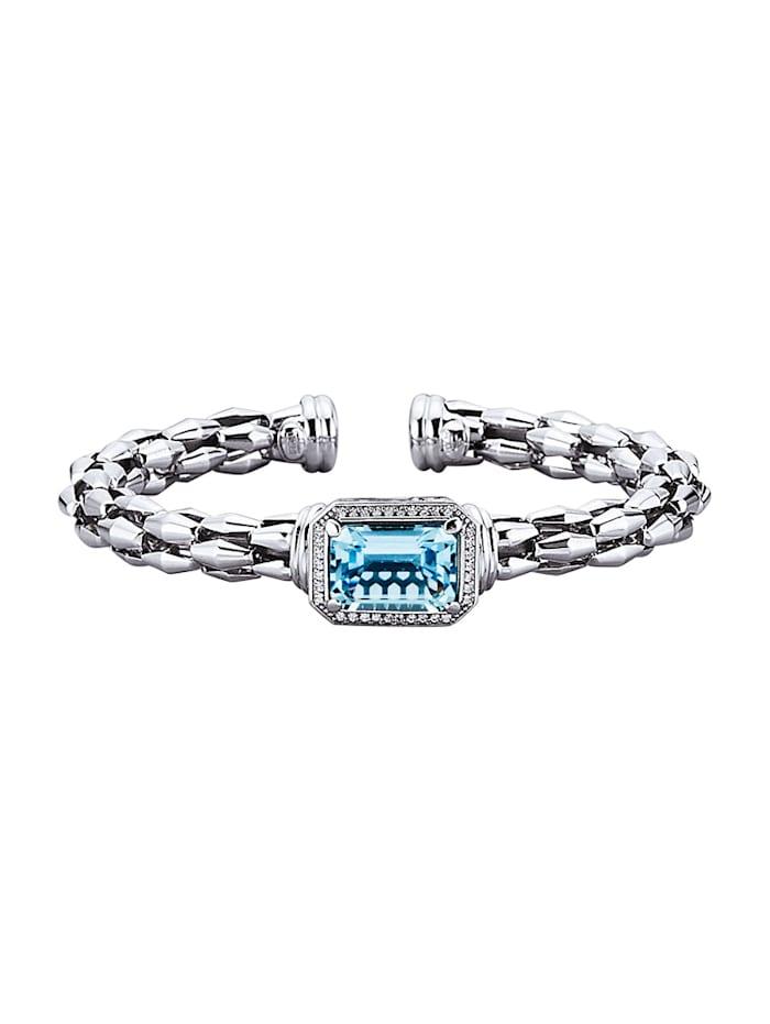 Amara Tendance Bracelet 1 topaze bleue, Bleu