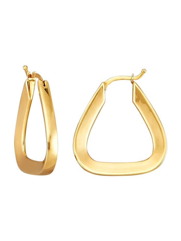 Diemer Gold Creolen van 14 kt. geelgoud, Geelgoudkleur